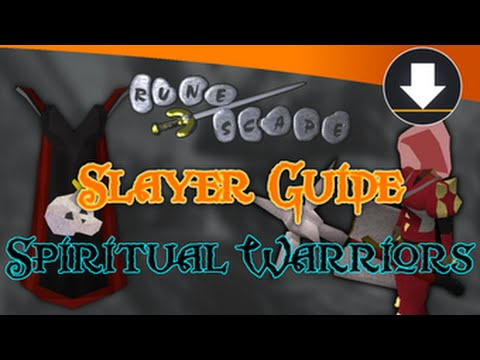 osrs spiritual creatures slayer guide