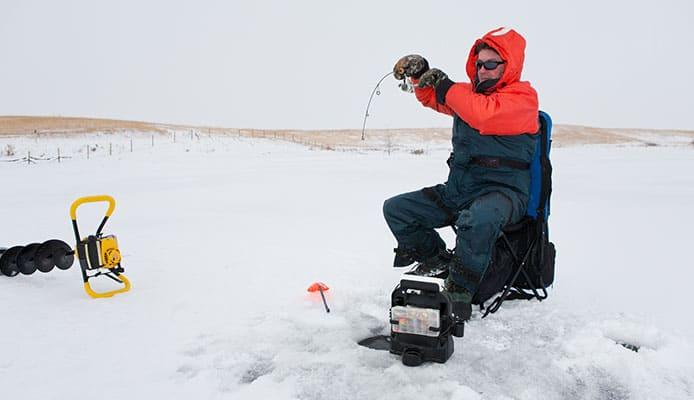 in fisherman ice fishing guide 2018