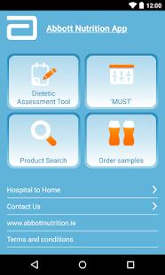 abbott nutrition product guide app