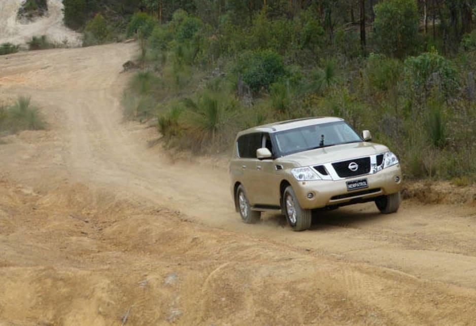 nissan patrol y62 wheel guide