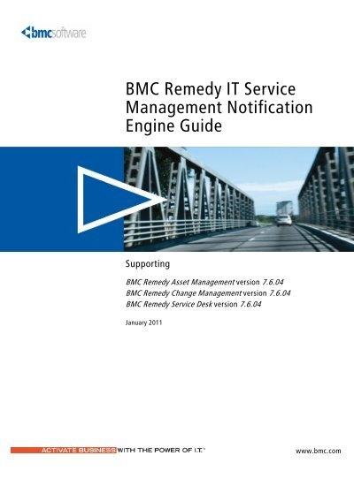 bmc remedy user guide 7.1