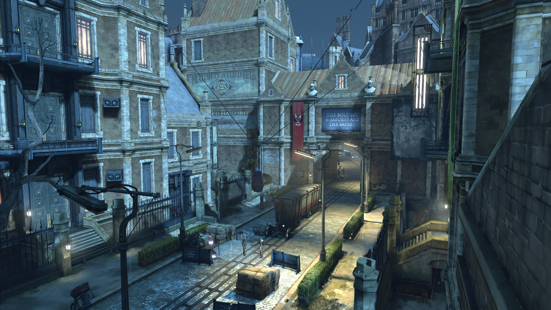 dishonored dunwall city trials trophy guide