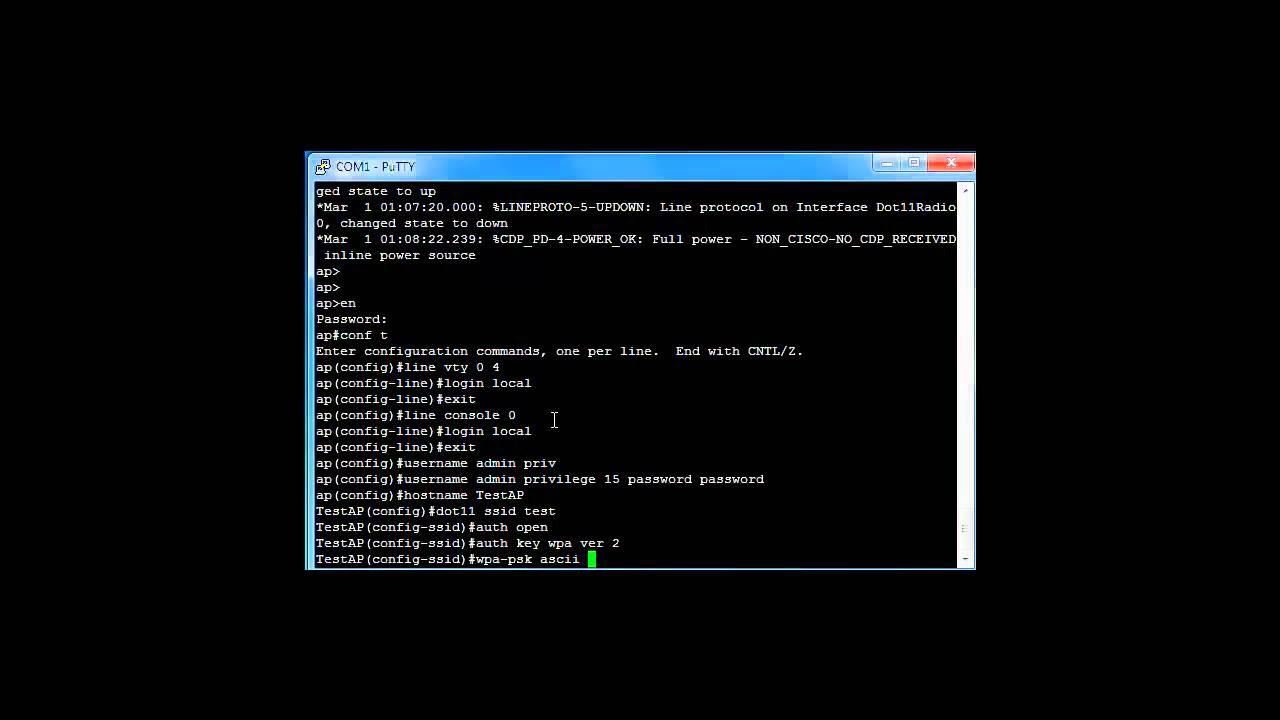 cisco 1242 access point configuration guide