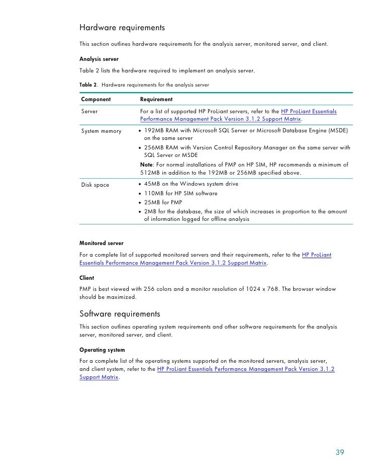 hp insight management agents user guide