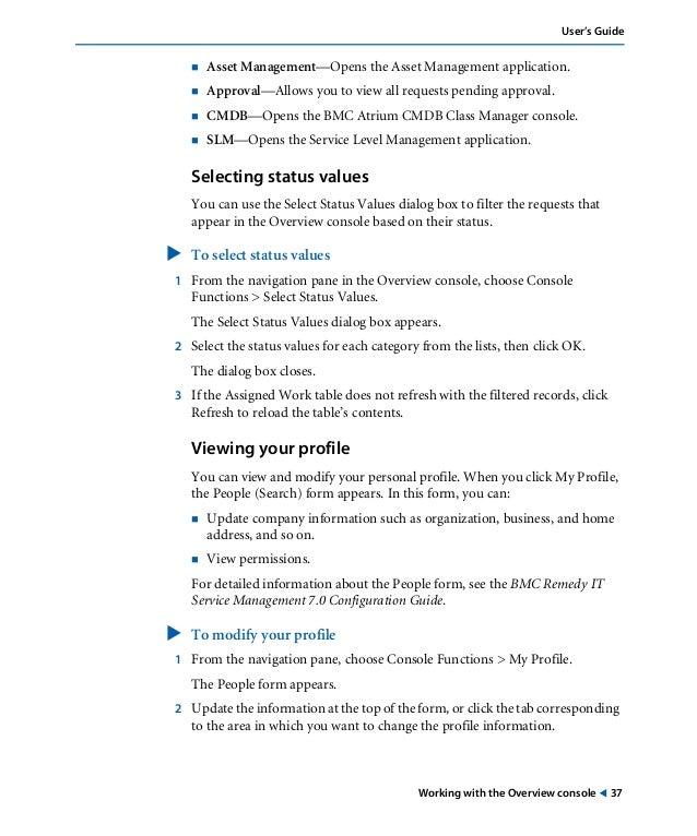 bmc remedy slm user guide