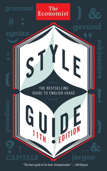 the economist style guide book dep