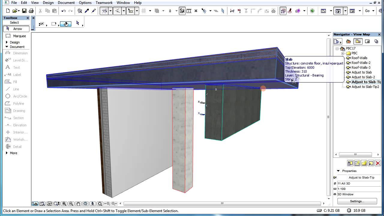 archicad priority based connections guide