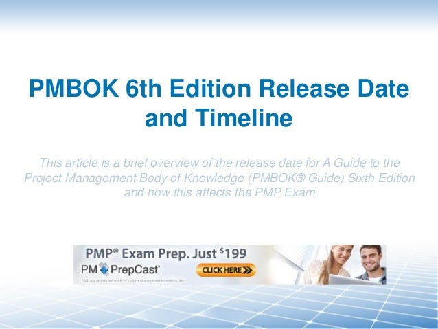pmbok 5th edition study guide