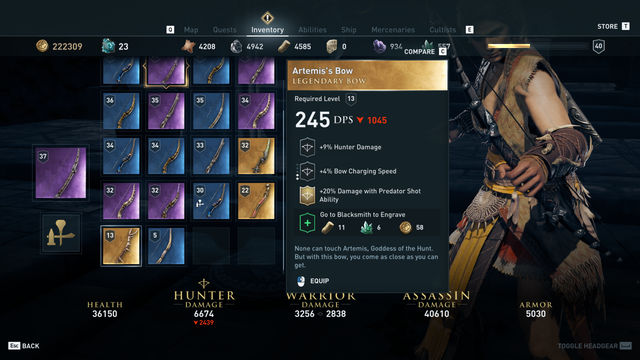 weapons guide ac orgins ign