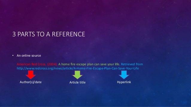 basic guide to apa referencing