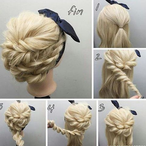 prom updos step by step guide