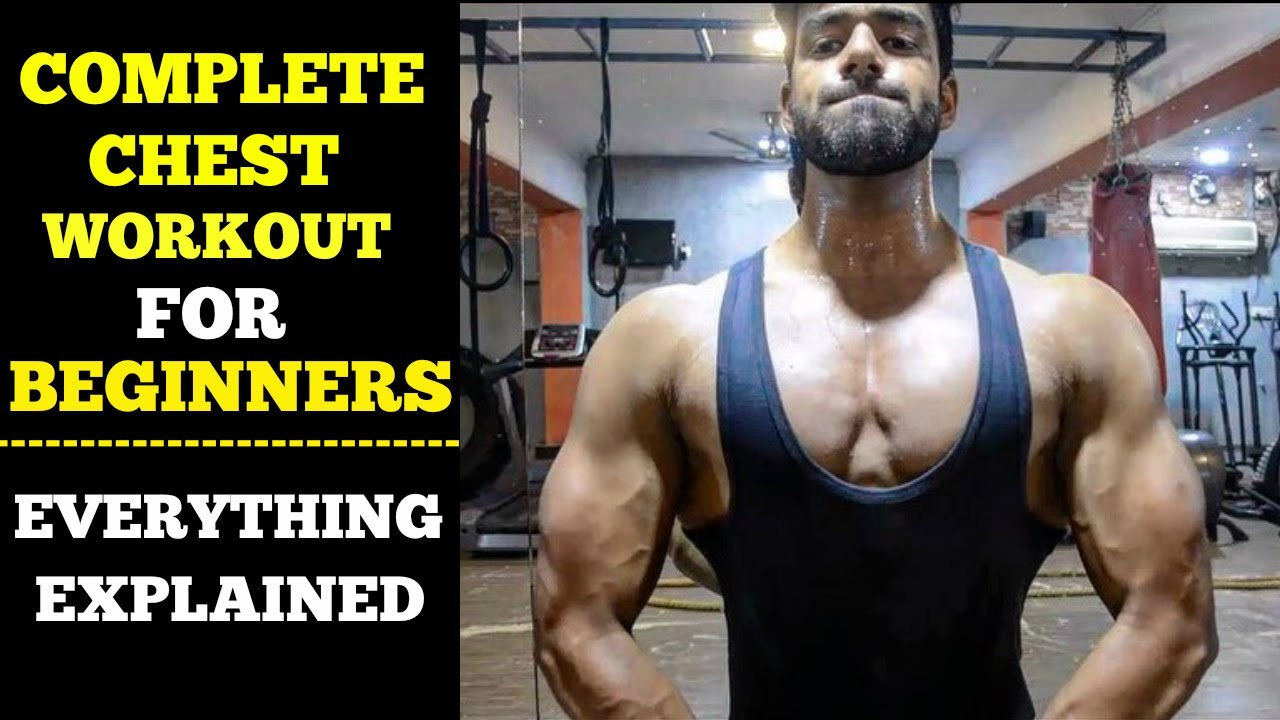 beginners guide to chest workout