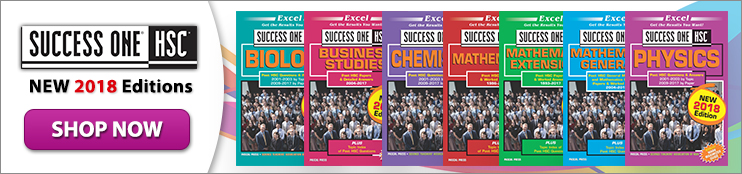 excel success one hsc biology study guide 2017 edition