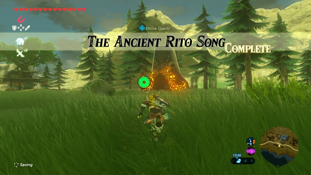 the ancient rito song guide