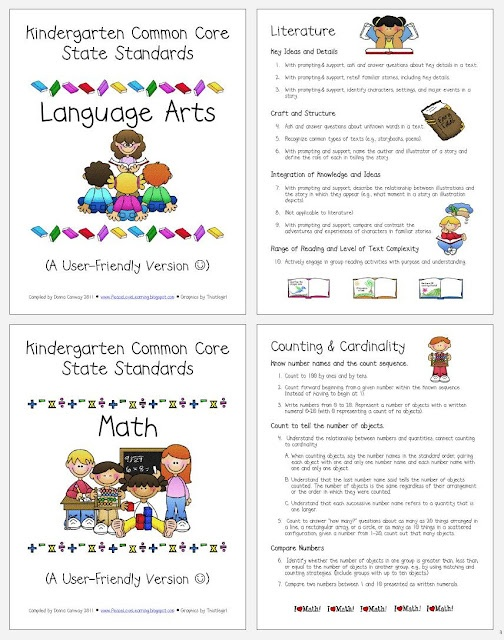 kindergarten common core pacing guide