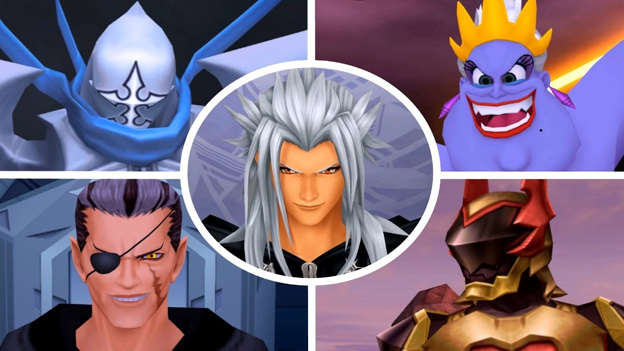 kingdom hearts ps2 boss guide
