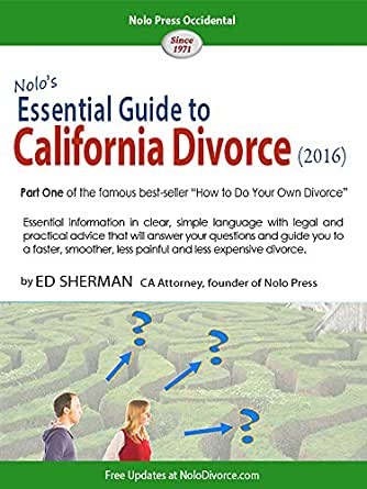 guide to divorce in california