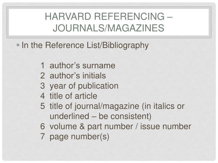harvard referencing guide open university