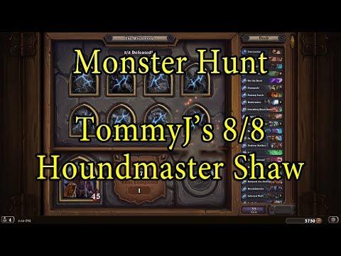 hearthstone monster hunt tess greymane guide reddit