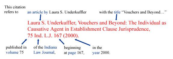 melbourne university law citation guide