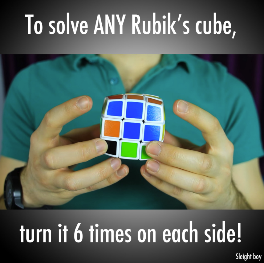 reddit guide for rubics cude