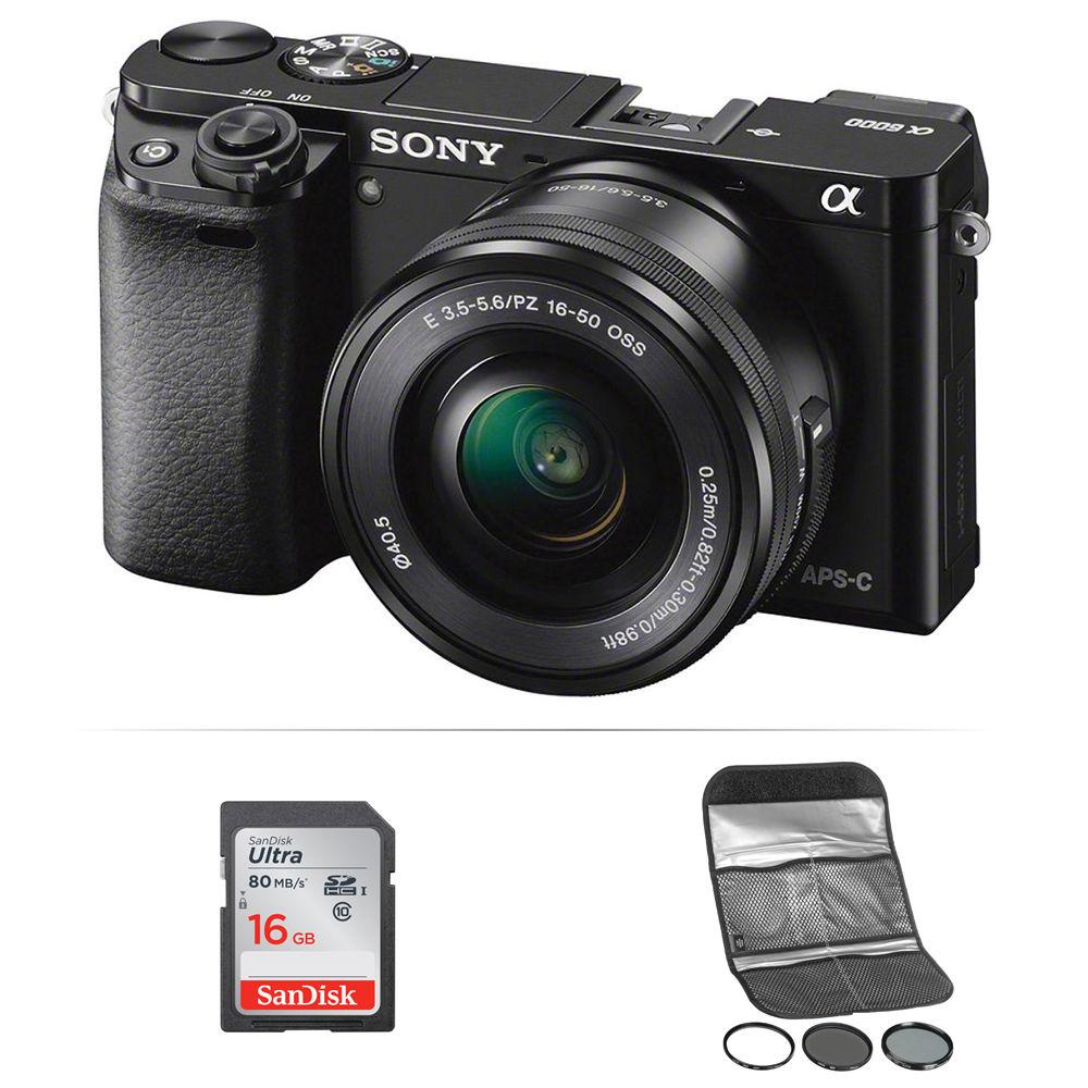 sony alpha a6000 lens guide