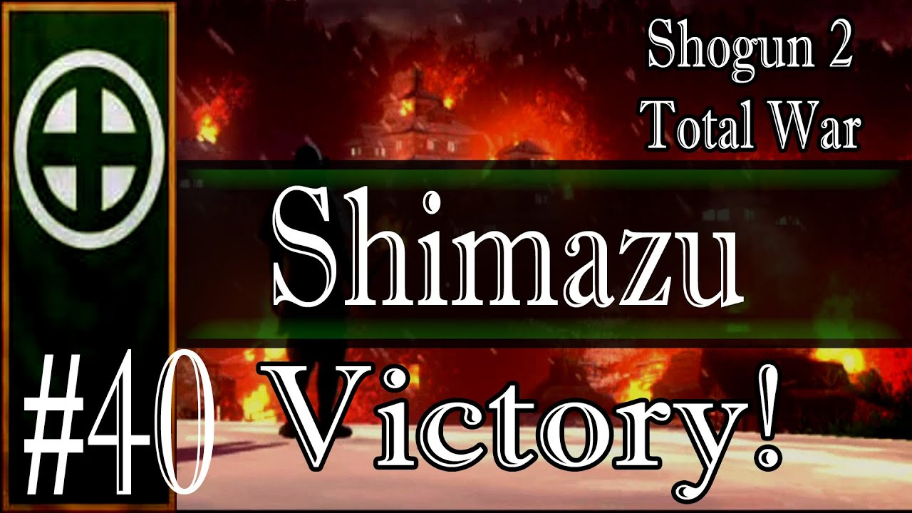 total war shogun 2 guide shimazu
