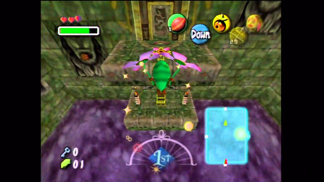 woodfall temple fairy guide 3ds